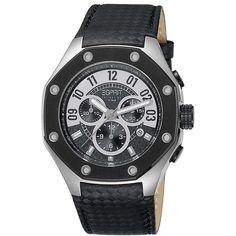 Esprit EL101291F01 Kronos Black Men's Watch Chronograph – StyleWearia