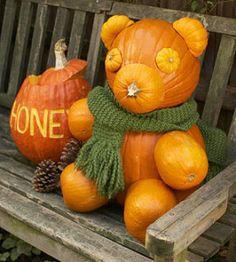 TMSM Pumpkin Art~ Pooh Bear