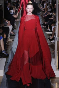 #Red #Valentino Fall Couture 2012 - Runway, Fashion Week, Reviews and Slideshows - WWD.com  (Photo: Giovanni Giannoni)