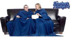 Siamese Slanket - a Wearable Blanket For Two Funny Valentines Gifts, Wearable Blanket, Siamese, Sleeves, Siamese Cat