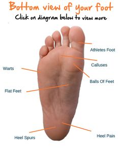 Show Us With This Interactive Foot Map