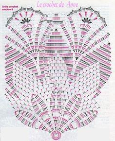 grille napperon aux arceaux 13