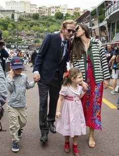 (1) Tumblr Andrea Casiraghi, Princesa Carolina, How To Be Graceful, Monaco Royal Family, Princess Caroline Of Monaco, Grace Kelly, Style Icons, Royalty, Kimono Top