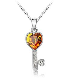 Love the design... heart key pendant..Gives some sort of pleasure. Doesn't it.