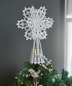Ravelry: Lacy Joyful Tree Topper pattern by Kathryn White
