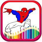 Superheroes coloring pages kids 1.2 Apk