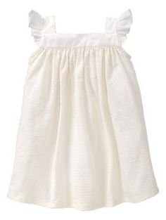 Organic pointelle knit dress | Gap..   Almost want this as a blessing dress.