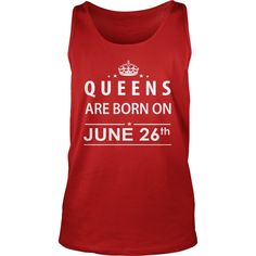 June 26 Shirts Queens are Born on June 26 T-Shirt 06/26 Birthday June 26 ladies tees Hoodie Vneck Shirt for Girl and women #gift #ideas #Popular #Everything #Videos #Shop #Animals #pets #Architecture #Art #Cars #motorcycles #Celebrities #DIY #crafts #Design #Education #Entertainment #Food #drink #Gardening #Geek #Hair #beauty #Health #fitness #History #Holidays #events #Home decor #Humor #Illustrations #posters #Kids #parenting #Men #Outdoors #Photography #Products #Quotes #Science #nature…