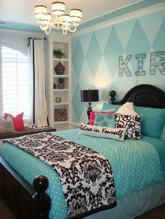 Quem disse que azul é #cor de menino? Olha essa combinação para o #quarto do casal! #inovação #ficaadica #homedecor