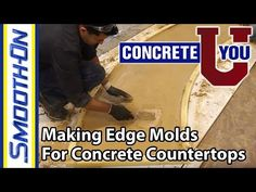 4d2eafc3ffd55c Creating Custom Edge Molds for Concrete Countertops - GFRC Architectural  Formwork - Episode 3 - YouTube