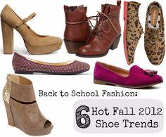 fall 2012 shoe trends