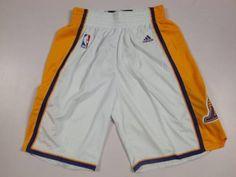 Los Angeles Lakers White NBA Shorts 5350923c2