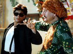 Shahrukh Khan and Anupam Kher singing 'Daddy Cool' - Chaahat Shah Rukh Khan Movies, Shahrukh Khan, Anupam Kher, Jackson Movie, Anushka Sharma, Cillian Murphy, Aishwarya Rai, Ranbir Kapoor, Hrithik Roshan