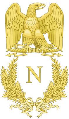 Emblem of Napoleon Bonaparte - Category:Royal monograms of France - Wikimedia Commons