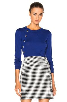 Altuzarra Minamoto Sweater in Royal Blue | FWRD