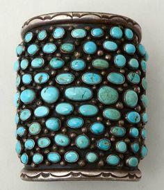 Turquoise cuff! LOVE.