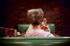 """William Eggleston, American 1939-present, pioneer of color photography as legitimate artistic medium, shot commonplace subjects """"democratically""""- photographing the world around him using large-format prints to monumentalize everyday subjects, every detail deserves attention, real subject was seen to be color itself"""