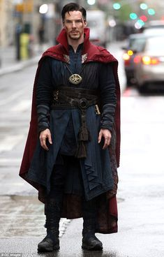 Benedict Cumberbatch à New York sur le tournage de Doctor Strange