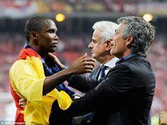 Jose Mourinho allowed Samuel Eto'o to deliver Inter Milan's Champions League final team talk