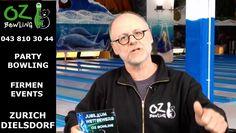 OZ Bowling Zürich Dielsdorf 10 jähriges Jubiläum Gewinnspiel Bowling, Videos, Games