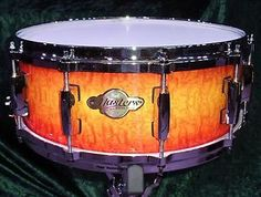 New & Factory Sealed Pearl Masters MCX 14x6.5 Snare Drum in Quilted Bubinga Sunburst MCX1465S/C800 - Free Ship USA - Ships Cheap Worldwide! http://stores.ebay.com/music-for-all-03