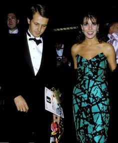 Aquarius Goddess Princess Caroline of Monaco with her first husband