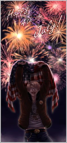 It's almost herrreee ^^ APH - 4th of July - by alatherna.deviantart.com on @deviantART