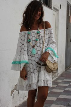 Stunning Boho Chic Outfits Ideas For 2019 15 Hippie Style, Bohemian Style, My Style, Boho Outfits, Summer Outfits, Fashion Outfits, Summer Dresses, Womens Fashion, Ibiza Fashion