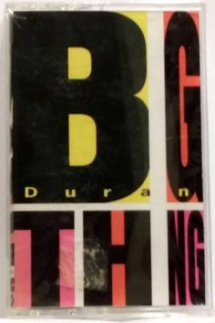 DURAN DURAN 1988 BIG THING Cassette Tape (NEW/SEALED)- RARE!
