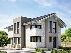 Stadtvilla modern mit erker  Exklusive Stadtvilla mit Walmdach, Gauben und Erker Mehr erfahren ...