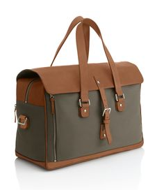 Saltaire 24 Hour Bag - Mens Designer Leather Briefcases, Bags Luggage - dunhill