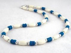 Curious journey $12.00 Men's beaded necklace. Sono wood, birch wood, and Tibet silver beads on tiger's tail wire.