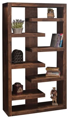 Sausalito Bookcase - Transitional - Bookcases - by Legends Furniture Cool Bookshelves, Bookshelf Design, Wall Shelves Design, Luxury Home Furniture, Home Decor Furniture, Furniture Projects, Room Deviders, Home Yoga Room, Legends Furniture