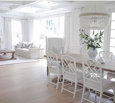 Beautiful whites in the gorgeous home of @jshomedesign.
