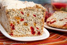 Pavlova, Sweet Bread, Banana Bread, Deserts, Fruit Cakes, Recipes, Drink, Food, Romanian Recipes