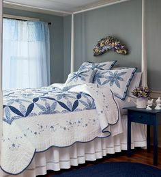 Cornflower Patchwork Quilts