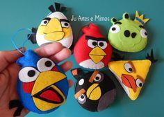 Angry birds para lembrancinhas