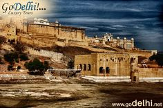 Amber Fort is located Amer is placed at a distance of 11 km from Jaipur city. Amber was the capital of the Kachhawaha till Jaipur was made the official capital in 1727. http://www.godelhi.net/ #JaipurSightseeing , #JaipurTour