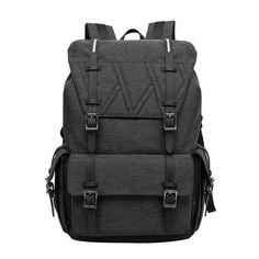 Spacious Ergonomical Multipocketed Backpack 2 Colors