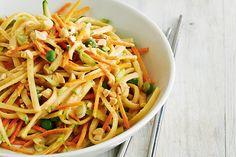 Crunchy Peanut and Veggie Noodle Salad | Canadian Living