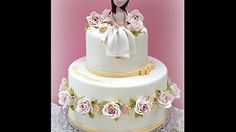 Tartas de Primera Comunión. First Communion cakes. Fondant cakes - YouTube