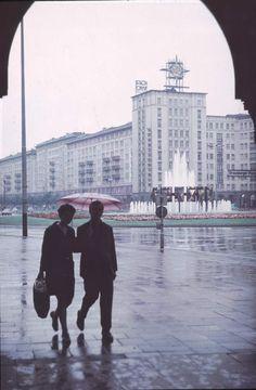 Berlin Strausberger Platz ca. 1970