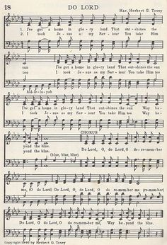 do lord o do lord sheet music - Yahoo Search Results Image Search Results Gospel Song Lyrics, Christian Song Lyrics, Gospel Music, Christian Music, Music Lyrics, Music Songs, Hymns Of Praise, Praise Songs, Worship Songs