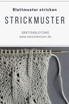 15 best Strickmuster images on Pinterest in 2018 | Knitting patterns ...