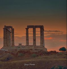 The Temple of Poseidon...SOUNIO.....