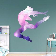 Fathead Gymnastics Silhouette Decal