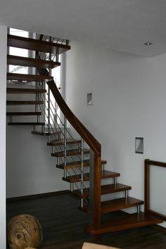 Modern, Stairs, Home Decor, Hand Railing, Carpentry, Stairway, Ladders, Homemade Home Decor