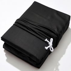 Life Basics - Eco Bamboo Sheet & Pillow Set - Charcoal