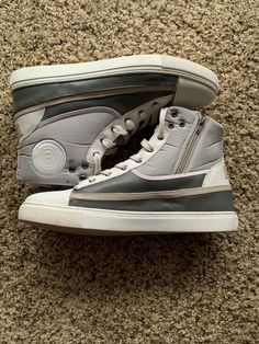 Kenneth Cole REACTION Men s High Top Sneaker White   Grey 12 M US  fashion   clothing  shoes  accessories  mensshoes  athleticshoes (ebay link) 3ba0228cb54