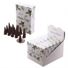 White Sage Stamford Incense Cones Packs) Incense is an inexpensive way of adding fragrance and ambience to your home and we have a huge collect Incense Cones, Stamford, Feng Shui, Sage, Decorative Boxes, Fragrance, Packing, Crystals, Instagram Posts